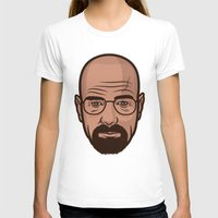 walter white T-shirts featuring Walter White by Michael Walchalk