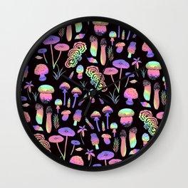 Psychedelic fungi - BKBG Wall Clock