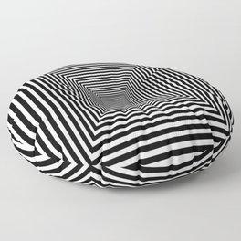 Down the Rabbit Hole Floor Pillow