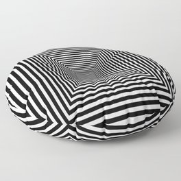 Down the Rabbit Hole Floor Pillow