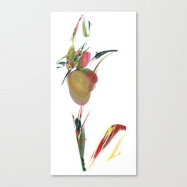 V is Vegan Canvas Print