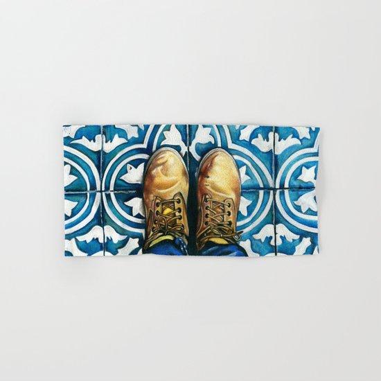 Art Beneath Our Feet - Mexico City Hand & Bath Towel