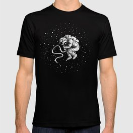 reborn in space T-shirt