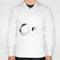 kim sy ok Hoodies featuring OK by hawkestone