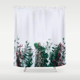 Peeking Nature Shower Curtain