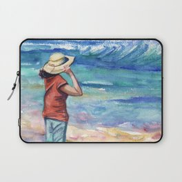Another Nice Day at the Beach Laptop Sleeve