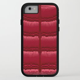 Abstract Red Quilt    iPhone Case