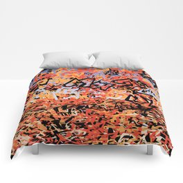 Shattering Sky Comforters