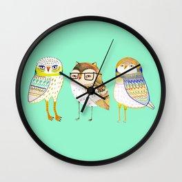 The Cutest owls. Wall Clock
