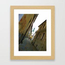 Bratislava Angles Framed Art Print