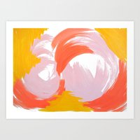 frosting Art Print