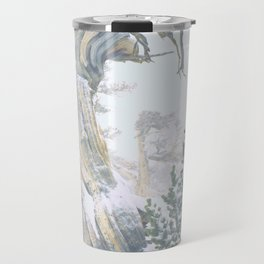 Ancient Tree, Twisted in the Wind/Windy Ridge, Colorado Travel Mug