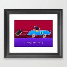 You're my number 1 Framed Art Print