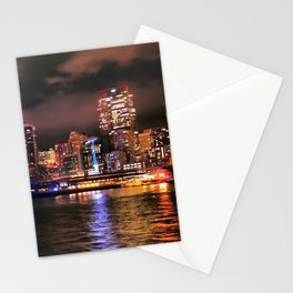 Leaving Seattle, December, 2015 Stationery Cards