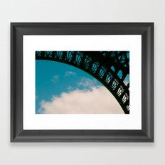 Detail of Eiffel. Framed Art Print