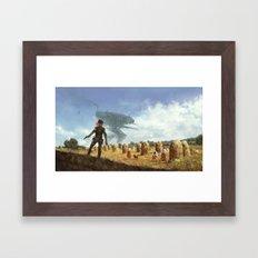 1920 - iron harvest Framed Art Print