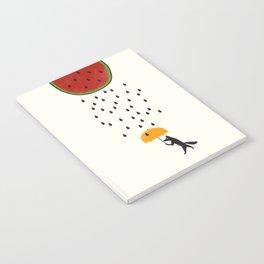 Raining Watermelon Notebook