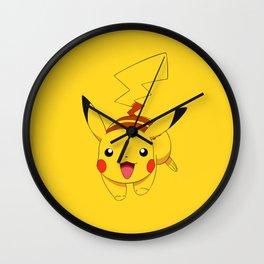 Pika Run Wall Clock