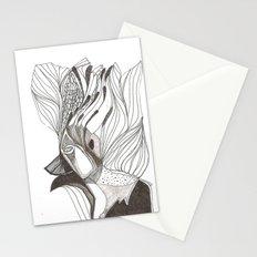 EL hombre pájaro Stationery Cards