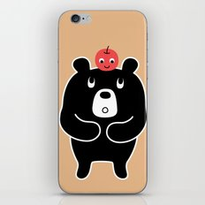 Apple Bear iPhone Skin
