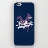 Thestrals iPhone & iPod Skin