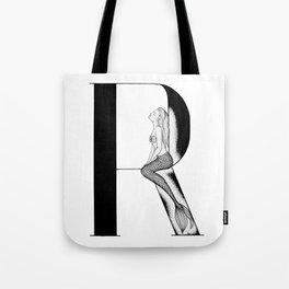 Mermaid Alphabet Series - R Tote Bag