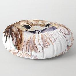 Pekingese love Dogs Floor Pillow