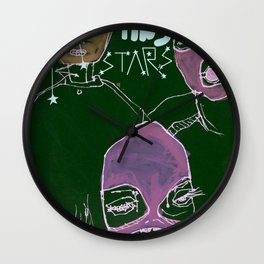shooting stars an the rebels. Wall Clock