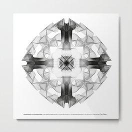 Framework for Foundations Metal Print