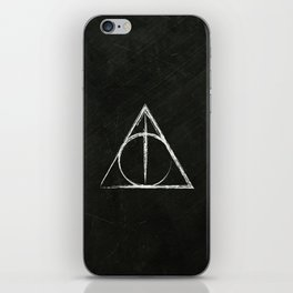 Deathly Hallows (Harry Potter) iPhone Skin