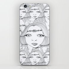 eyes iPhone & iPod Skin