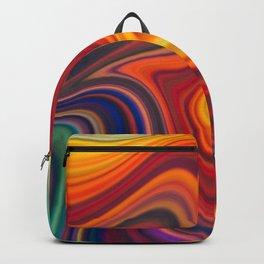 Rainbow Agate Gemstone Marble Backpack