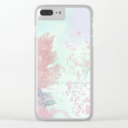 Shattered Rin Clear iPhone Case