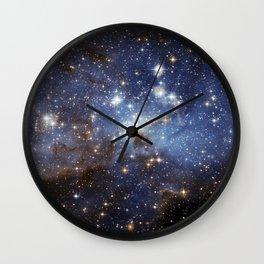 LH 95 stellar nursery in the Large Magellanic Cloud (NASA/ESA Hubble Space Telescope) Wall Clock