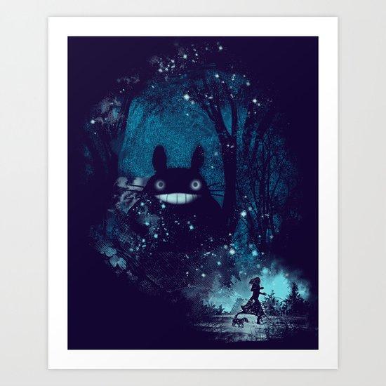 the big friend Art Print