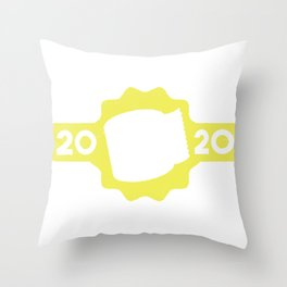 Toilet paper crisis in 2020, I survived Throw Pillow