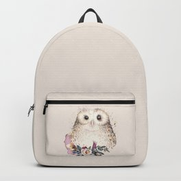 Boho Illustration- Be Wise Little Owl Backpack
