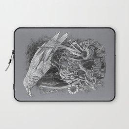 White Raven Laptop Sleeve