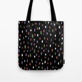 Happy Holiday Confetti Tote Bag