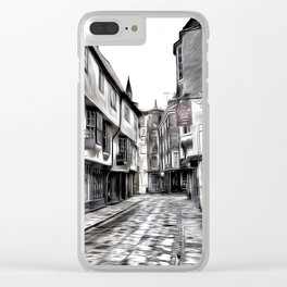 The Shambles York Art Clear iPhone Case