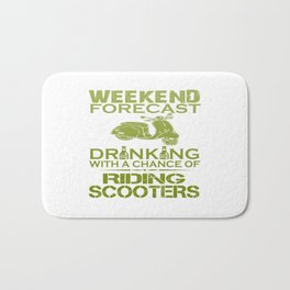 RIDING SCOOTERS Bath Mat