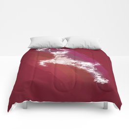 In Search Of Peace - (Maroon) Comforters