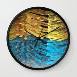 car wash Wall Clock