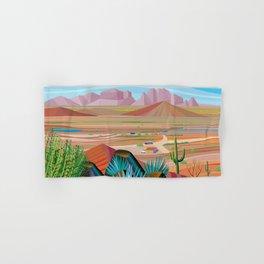 La Pimeria, West Phoenix Hand & Bath Towel
