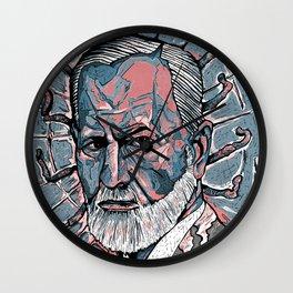 Freud Wall Clock
