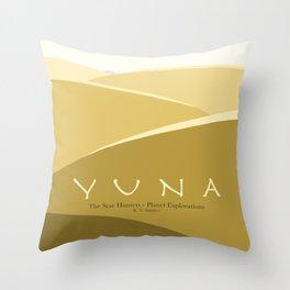 Planet Exploration: Yuna Throw Pillow