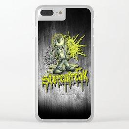Störenfreak Clear iPhone Case
