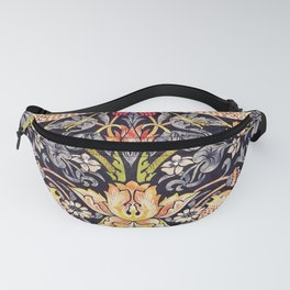 William Morris Strawberry Thief Art Nouveau Painting Fanny Pack