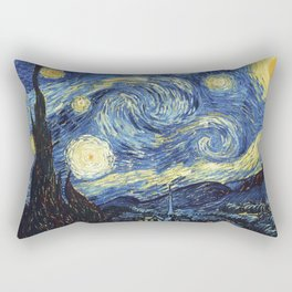 Van Gogh Starry Night Rectangular Pillow