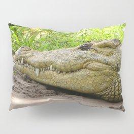 crocodile grin Pillow Sham